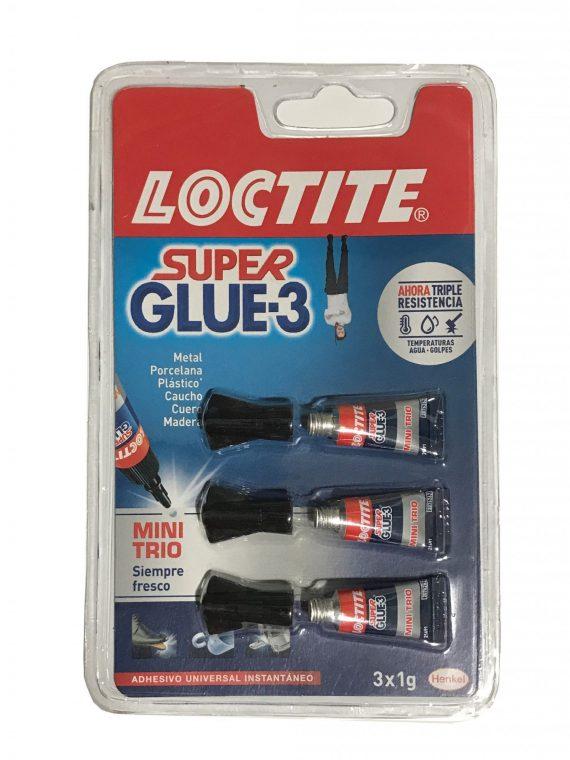 super glue 3 minitrio