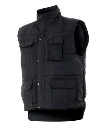 chaqueta multibolsillos acolchado