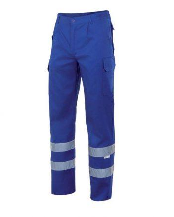 pantalón multibolsillos cinta reflectante