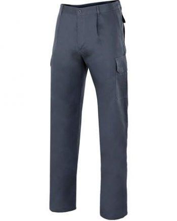 pantalón multibolsillos algodón