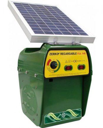 pastor eléctrico zerko solar recargable