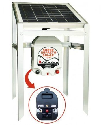 pastor eléctrico super impacto solar 15w
