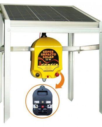 pastor eléctrico solar 25w