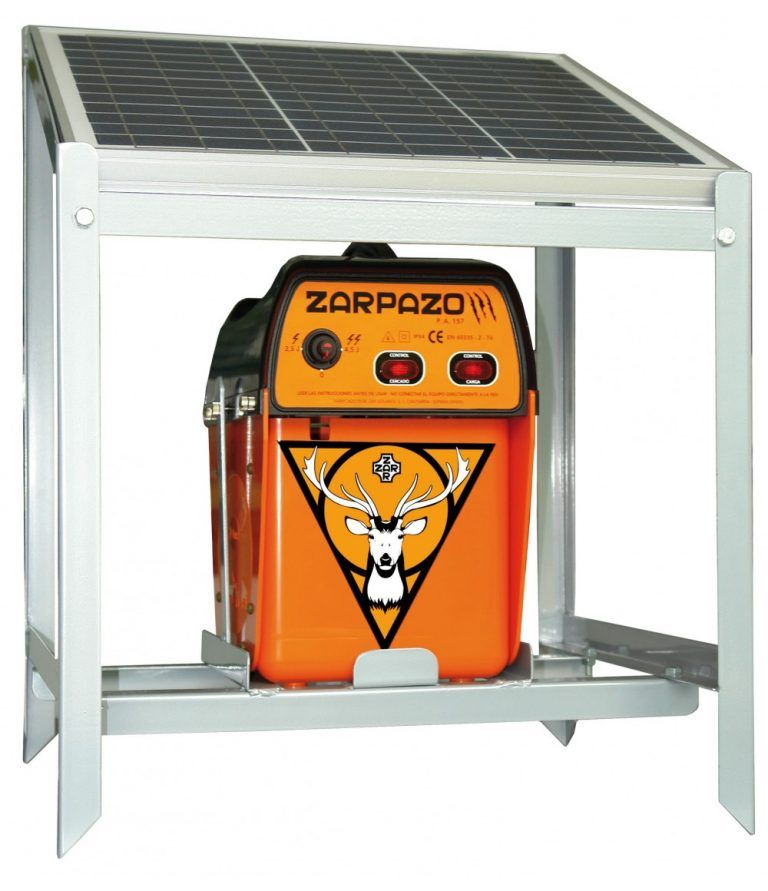 pastor eléctrico 12v zarpazo solar