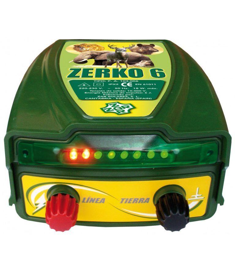 pastor eléctrico zerko red 6