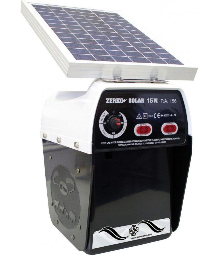 pastor eléctrico zerko solar 15w